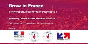 Grow in France : new opportunities for Tech businesses par French Tech Suisse Romande